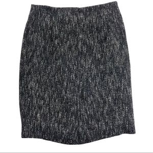 Talbots black and white thick skirt- 14